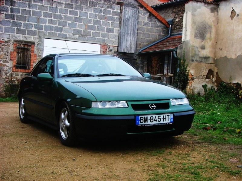 Philou37 calibra 16v cool line et ses volutions for Garage opel yvetot