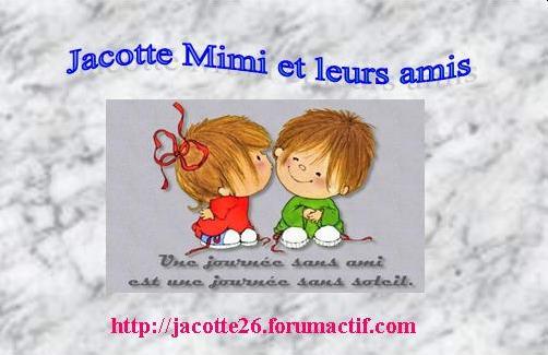 chez Jacotte Mimi et leurs amis