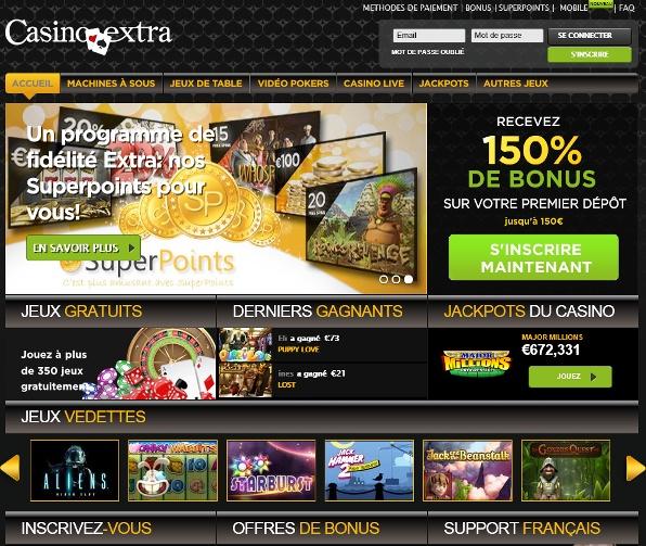 Casino Extra Bonus Code