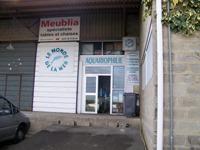 Façade du magasin le monde de la mer