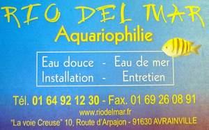 Carte de visite Rio Del Mar