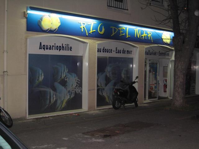 Façade du magasin Rio Del Mar