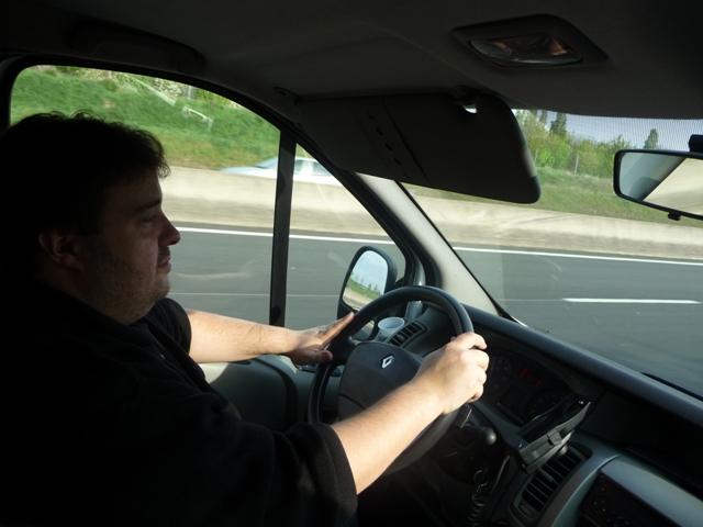 Notre chauffeur Lilian