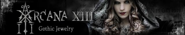 Arcana XIII Bijoux gothiques