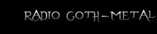 Radio goth-metal
