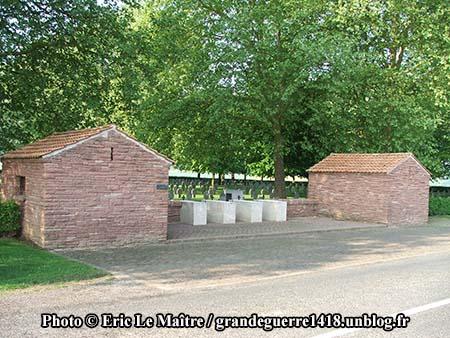 Le cimetière allemand de Belleau