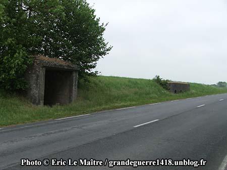 Blockhaus français à Saint-Hilaire-Le-Grand