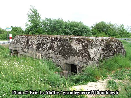 Blockhaus allemand de Navarin