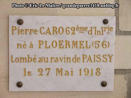 Pierre Caro du 62e RI