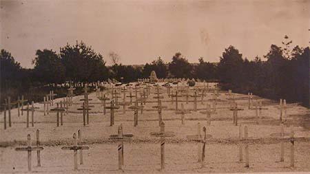 Aspect du cimetière russe dans les années Vingt