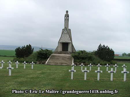 Nécropole Nationale de Sillery - La chapelle-mausolée