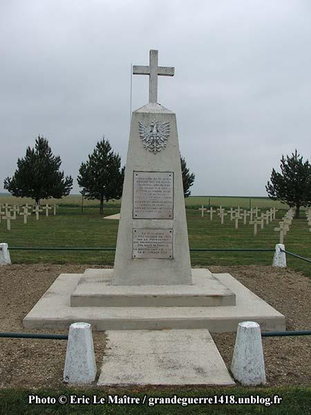 Détails du monument polonais des deux guerres mondiales