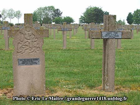 Deux tombes parmi tant d'autres