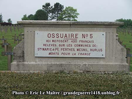 Ossuaire n°5 de Souain