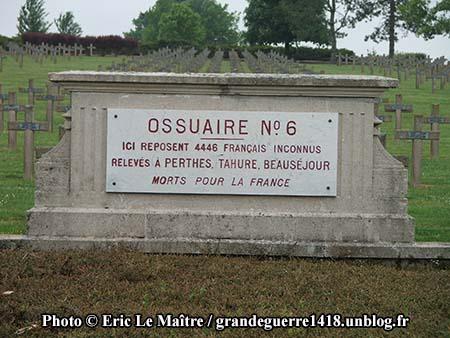 Ossuaire n°6 de Souain