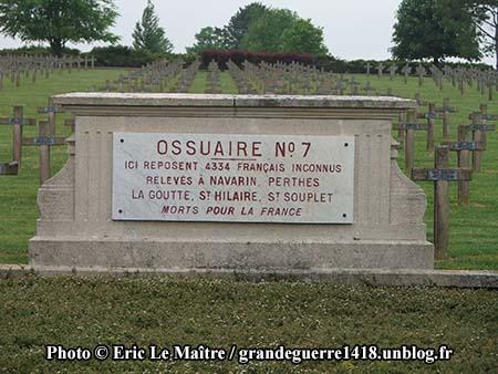 Ossuaire n°7 de Souain