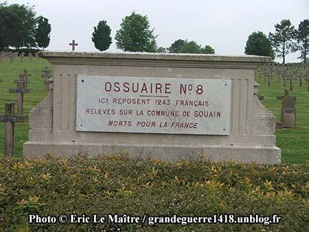 Ossuaire n°8 de Souain