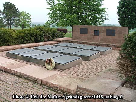 Ossuaire allemand de Souain