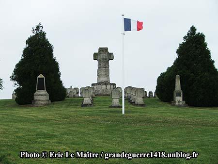 La Nécropole Nationale de Souain 28e Brigade
