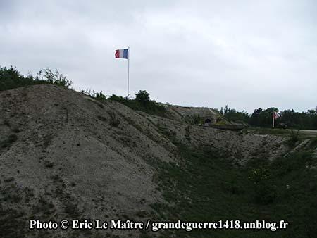 Fossé du musée du fort de La Pompelle