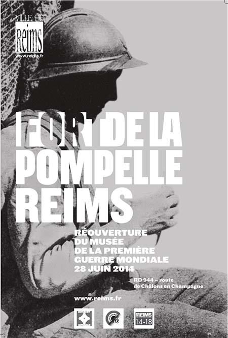Affiche du fort de La Pompelle