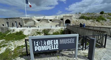 Restauration du fort de La Pompelle