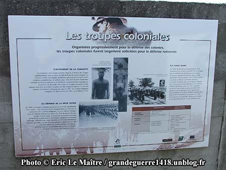 Les troupes coloniales