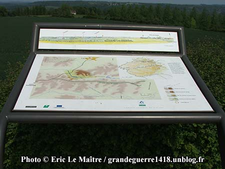 Carte panoramique du site