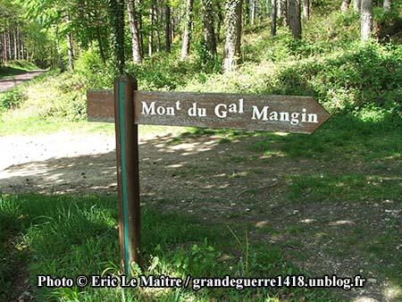 Monument du général Mangin