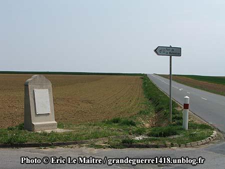 Monument de la 38e division - Fort de la Malmaison
