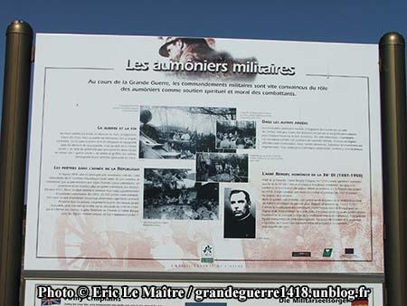 Le monument des Basques - Un des tableaux