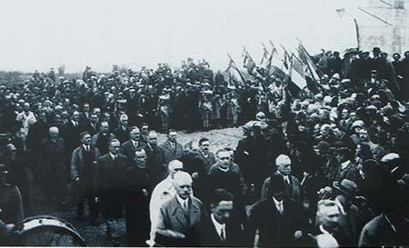 Le monument des Basques - Anciens combattants