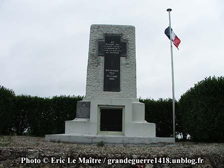 Monument de La Pompelle - Vue de face
