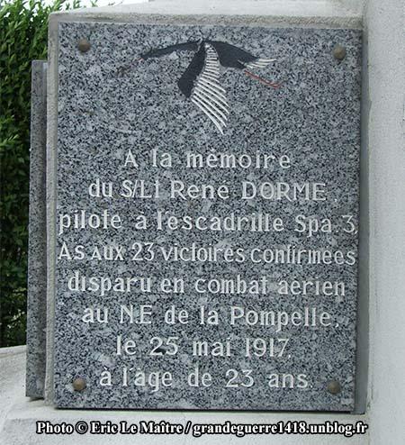 Monument de La Pompelle - PC René Dorme