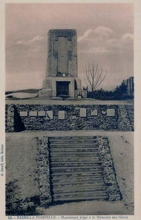 Monument de La Pompelle - Carte postale