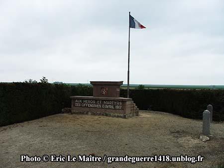 Monument commémoratif aux héros et aux martyrs des offensives d'avril 1917