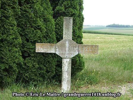 Croix en souvenir de Joseph Charlet