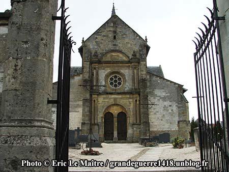 L'église de Sommepy