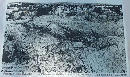 Vue du Plateau de Californie après la guerre