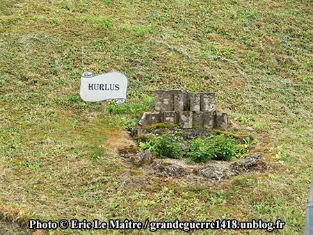 Vestige ddu village d'Hurlus