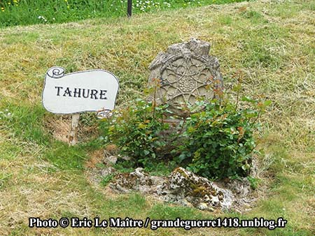 Vestige ddu village de Tahure