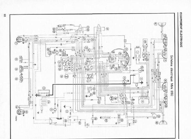 Sch ma lectrique mini mont e en dynamo - Probleme electrique maison court circuit ...