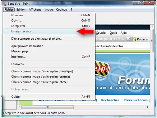 Faire une capture d 39 cran screenshot for Screenshot ecran