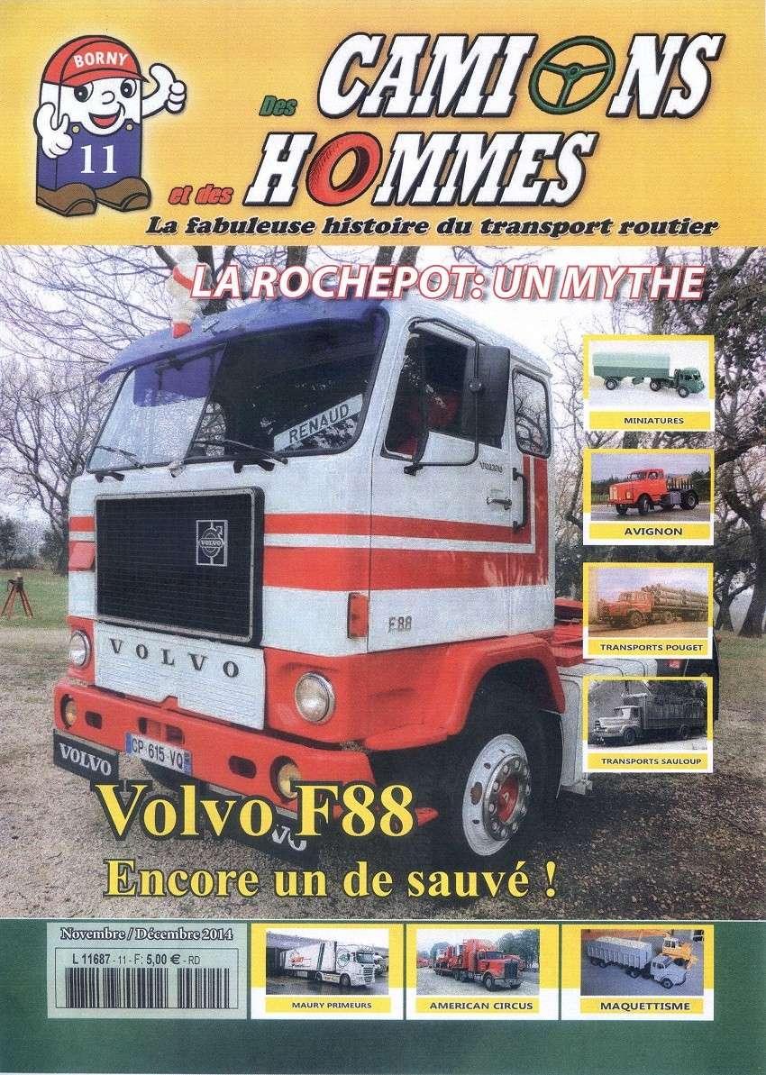 Abonnez vous au magazine Des Camions et des Hommes