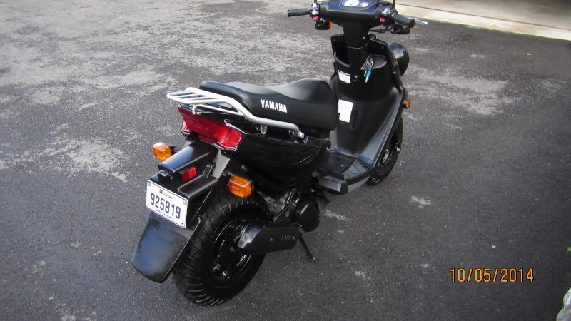 Yamaha bw 39 s vendu for Miroir yamaha apex
