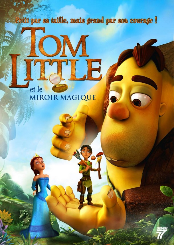 Tom little combo blu ray for Le miroir magique