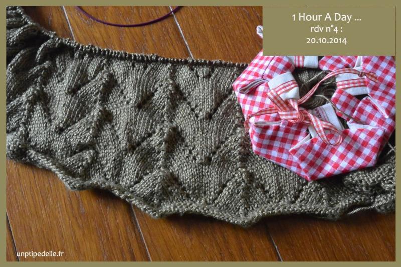 suite défi tricot du lundi #4