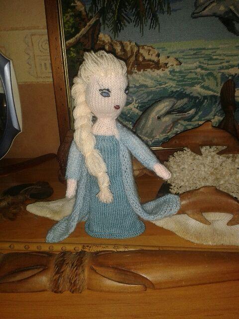 tuto tricot reine des neiges