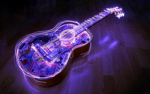 papel de parede musica