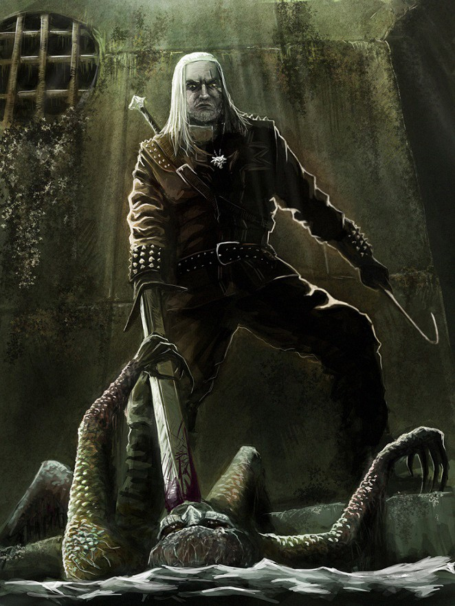 The Witcher Drowner